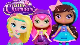 getlinkyoutube.com-LITTLE CHARMERS Nickelodeon Little Charmers Figures Playset Owl Cat Dragon Toy Reivew Nick Jr