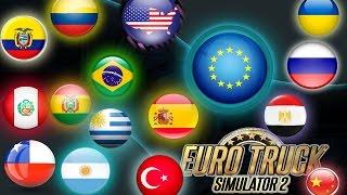 getlinkyoutube.com-Euro Truck Simulator 2 MAPA MUNDIAL V.7.0 XF (actualizado 02-05-2016)