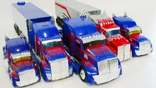 getlinkyoutube.com-Transformers Movie4 Optimus Prime 5 Truck Vehicle Robot Car Toys 트랜스포머 무비4  옵티머스 프라임  5대 트럭 자동차 장난감
