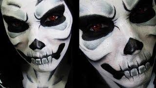 getlinkyoutube.com-Lich  | Skeleton Makeup