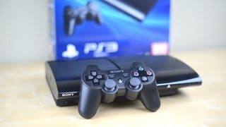 Unboxing: Super Slim PS3   PlayStation 3 2012 250GB