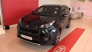 getlinkyoutube.com-Kia Sportage 2016 Start Up, Drive, In Depth Review Interior Exterior