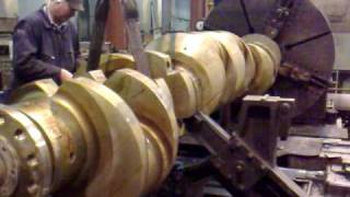 getlinkyoutube.com-crankshaft lathe 2 cookebros engineering
