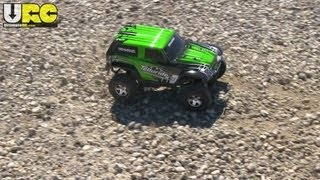 Traxxas Telluride 4x4 first drive, 3 surfaces, narrated