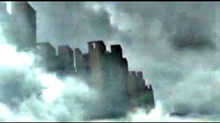 getlinkyoutube.com-Floating City In Clouds Over China 2015 - Real Live Video Footage