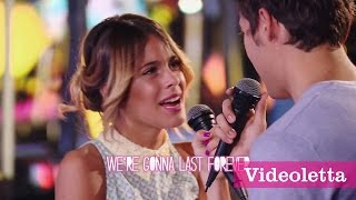 "getlinkyoutube.com-Violetta 3 English Exclusive: Violetta and Leon sing ""Carry my heart"" (""Descubri"") with Lyrics Ep.60"