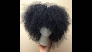 getlinkyoutube.com-Crochet braidless wig with glance water wave!