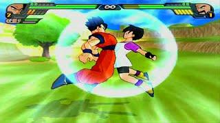 getlinkyoutube.com-Gohan & Videl Fusion | Kid Pan vs Mr Satan Dragon Ball Z Budokai Tenkaichi 3 (MOD)