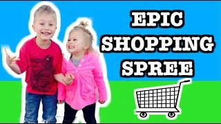 getlinkyoutube.com-EPIC SHOPPING SPREE with NEW Paw Patrol Toys, Thomas & Friends Play Set, Transformer Blind Bags