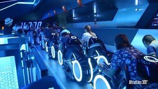 getlinkyoutube.com-[HD] Amazing TRON Coaster Ride-through - Shanghai Disneyland