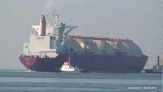 getlinkyoutube.com-BROOG LNG TANKER SHIP LNGタンカー
