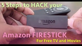 getlinkyoutube.com-Amazon Firestick - 5 STEP HACK FOR FREE TV AND MOVIES!!