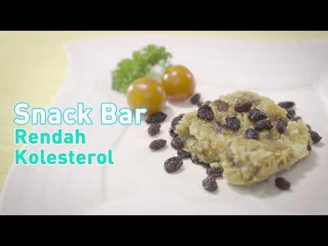 Snack Bar Rendah Kolesterol - Versi Pendek