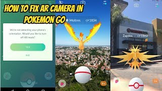 getlinkyoutube.com-Pokemon Go AR is NOT Working!? Andriod and iOS Solutions and Explained NEW UPDATE