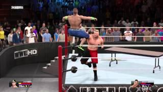 WWE 2K15 - God Cena vs Bork Laser width=