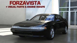 getlinkyoutube.com-Forza Motorsport 6 - 1996 Subaru SVX Forzavista + Visual Parts & Engine Swaps