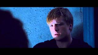 The Hunger Games: Peeta and Katniss night before the games [HD]