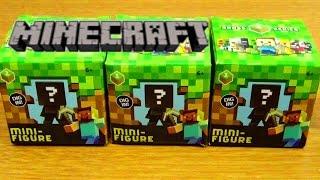 getlinkyoutube.com-マインクラフト【?BOX】ミニフィギュア開封minecraft question block