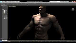 getlinkyoutube.com-How to create walking animation in 3DS Max 2015 - Human