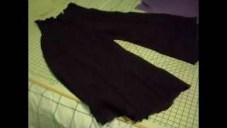 getlinkyoutube.com-easy boho pants tutorial from peasant skirt extra comfy