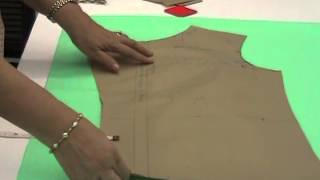 getlinkyoutube.com-Lesson 3-12 - How to Lay, Pin, Mark and Cut the Fabric