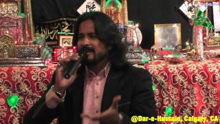 Syed Irfan Haider reciting beautiful Ru'bai in Dar e Hussain Calgary Canada on Apr 20, 2016