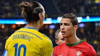 getlinkyoutube.com-Cristiano Ronaldo Vs Zlatan Ibrahimovic ● Battle For Best Goals 2015 ||HD||