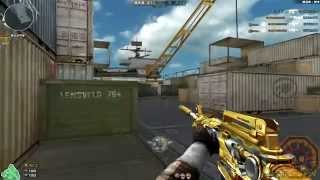 getlinkyoutube.com-Cross Fire China || M4A1-S Iron Beast Noble Gold [GamePlay]!