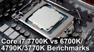 getlinkyoutube.com-Core i7 7700K vs 6700K/ 4790K/ 3770K Gaming Benchmarks