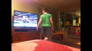 getlinkyoutube.com-Crazy Kid Reacts To Seth Rollins' WWE Return