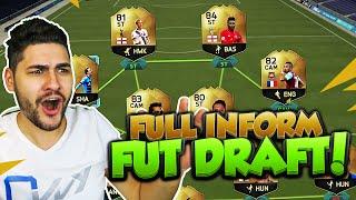BEST FIFA 16 FUT DRAFT EVER !!! FULL INFORM FUT DRAFT / FIFA 16 ULTIMATE TEAM + INSANE PACK LUCK :D