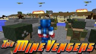 getlinkyoutube.com-Minecraft MineVengers - WORLD WAR II, CAP'S NIGHTMARE!!!!