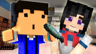 getlinkyoutube.com-YANDERE - HOW TO HIT ON GIRLS WITH FISH! (Minecraft Roleplay) #3