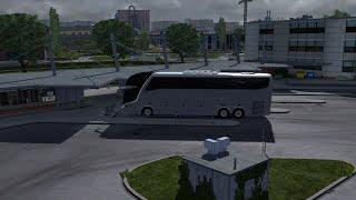 getlinkyoutube.com-Euro Truck Simulator 2 - Volvo BUS MOD - v. 1.13.2
