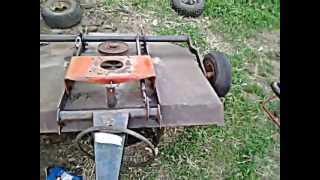 getlinkyoutube.com-pull/tow behind mower/brush hog project part 2 trail cutter