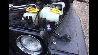 getlinkyoutube.com-Jeep Wrangler  Wolo (619) Big Bad Max Air Horn quick install
