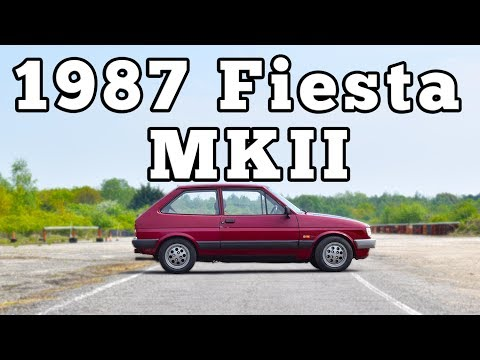 1987 Ford Fiesta MKII: Regular Car Reviews