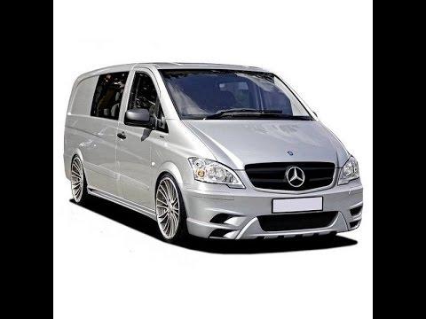 Замена фильтра салона Mercedes Vito W639