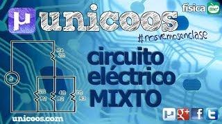 Imagen en miniatura para FISICA Circuito electrico mixto SERIE PARALELO
