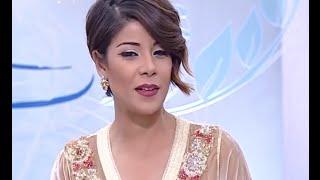 getlinkyoutube.com-آخر إبداعات المصممة وفاء بن منصور بنكيران مع ليلى الحديوي.