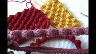 getlinkyoutube.com-how to crochet a raspberry stitch or bobble stitch and headband