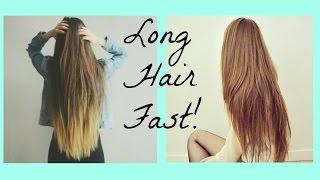 getlinkyoutube.com-How to get long hair FAST! Tips + Tricks