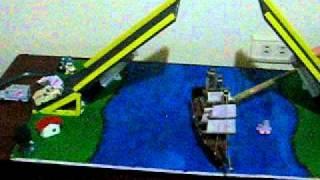 puente levadizo hidraulico