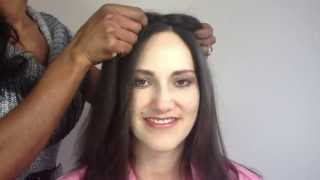 getlinkyoutube.com-How to apply Enchantop Hair Topper