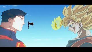 getlinkyoutube.com-Goku Vs Superman - Time Of Crossover 3 - [ The Begin Of All ] 2015