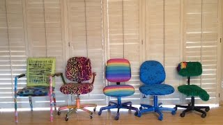 getlinkyoutube.com-Easy DIY: How to Redecorate an Old Chair!