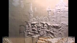 getlinkyoutube.com-Барельеф этапы создания .рельефное панно.3D панно