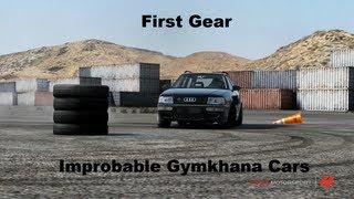 First Gear Improbable Gymkhana Cars (Forza motorsport 4)