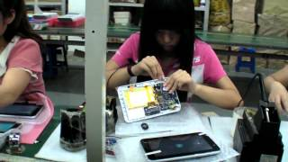 Assembling Android Tablet Factory Tour in China ( This is how your tablet is made )