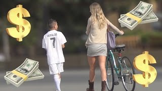 getlinkyoutube.com-12 Year Old Cristiano Ronaldo Exposes Gold Diggers Prank!